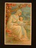 素敵なホリーカード 1900s フランス