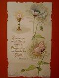 ポピーと聖杯のホリーカード (紙) 1910年
