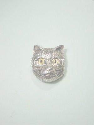 画像1: 猫のブローチ・ペンダント 1920〜1940s