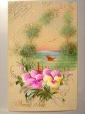 セルロイドのポストカード 1907年
