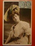女優のポストカード フランス 1906年