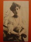 女優のポストカード フランス 1903年