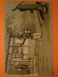 ウサギのポストカード 1900s